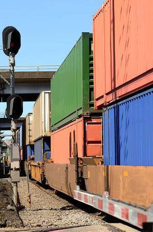 intermodal train