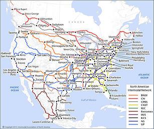 intermodal service map