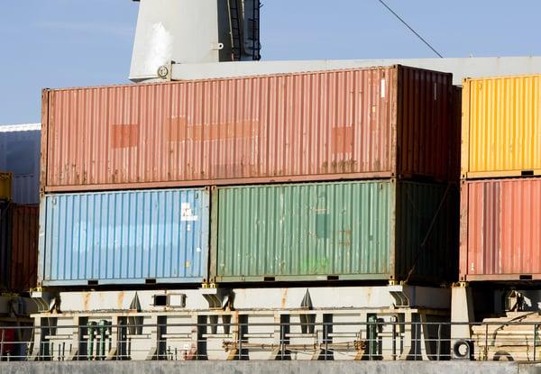 20' & 40' intermodal containers