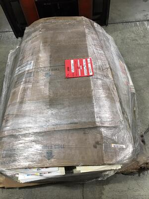 poorly wrapped LTL shipment