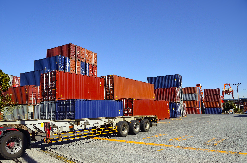 Intermodal chassis, truck & ramp