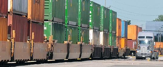 Intermodal rates increasing