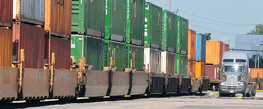 Intermodal rates increasing