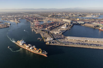 Southern California Port of Long Beach