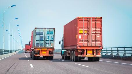 intermodal trucks