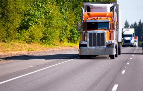 Trucks for intermodal transportation