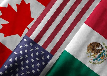 US Canada Mexico cross border shipping