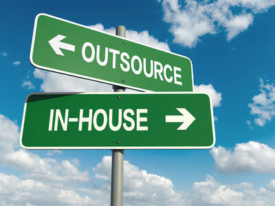insource or outsource freight management