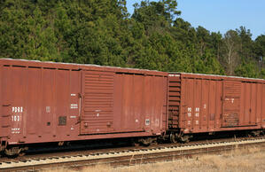 railroad boxcar