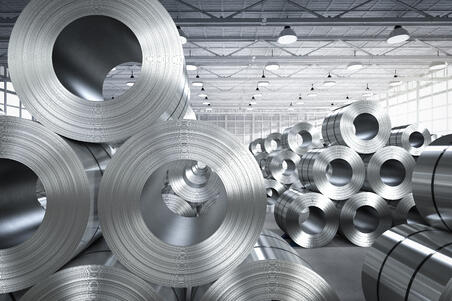 shipping steel coils