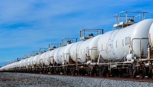 tank cars railroad