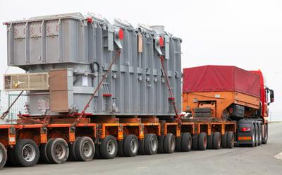 transporting machinery