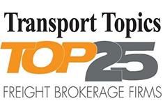 Transort Topics Top 25 Freight Broker
