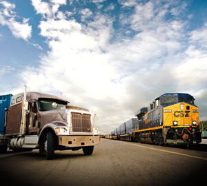 intermodal and truckload spot rates